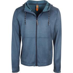 Elkline Piripiri Fleece Jacket Herren bluestonemelange
